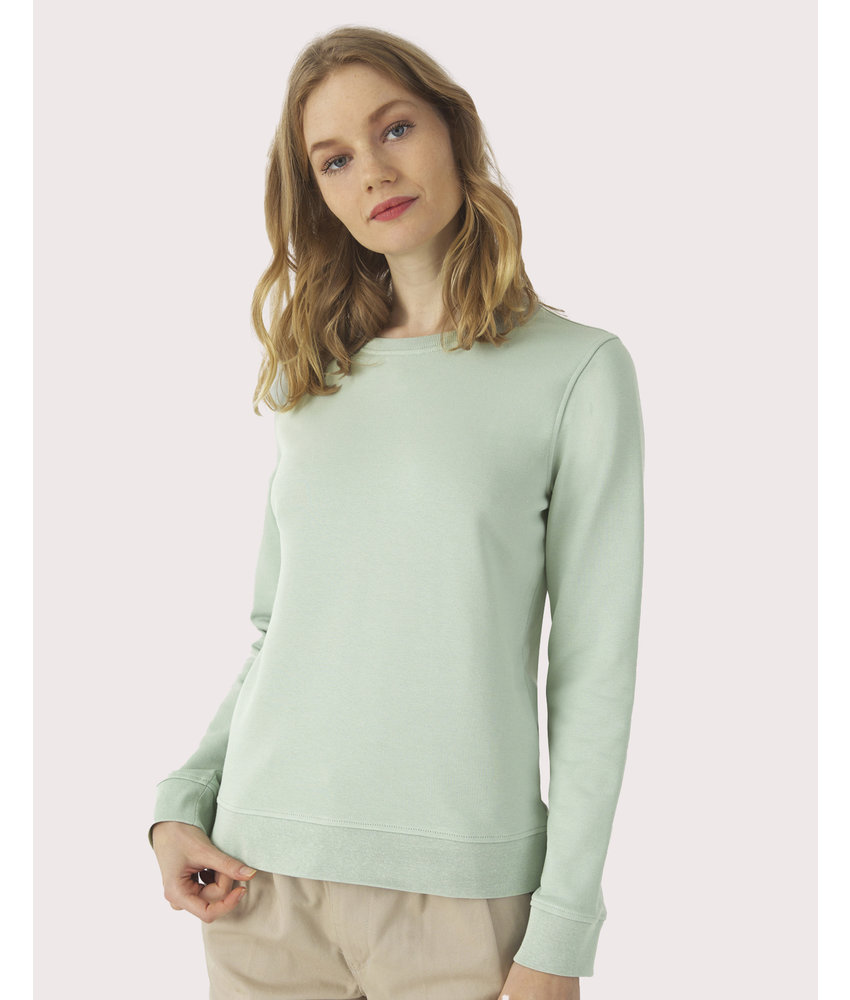 B&C | CGWW32B | 229.42 | WW32B | Organic Crew Neck /women French Terry