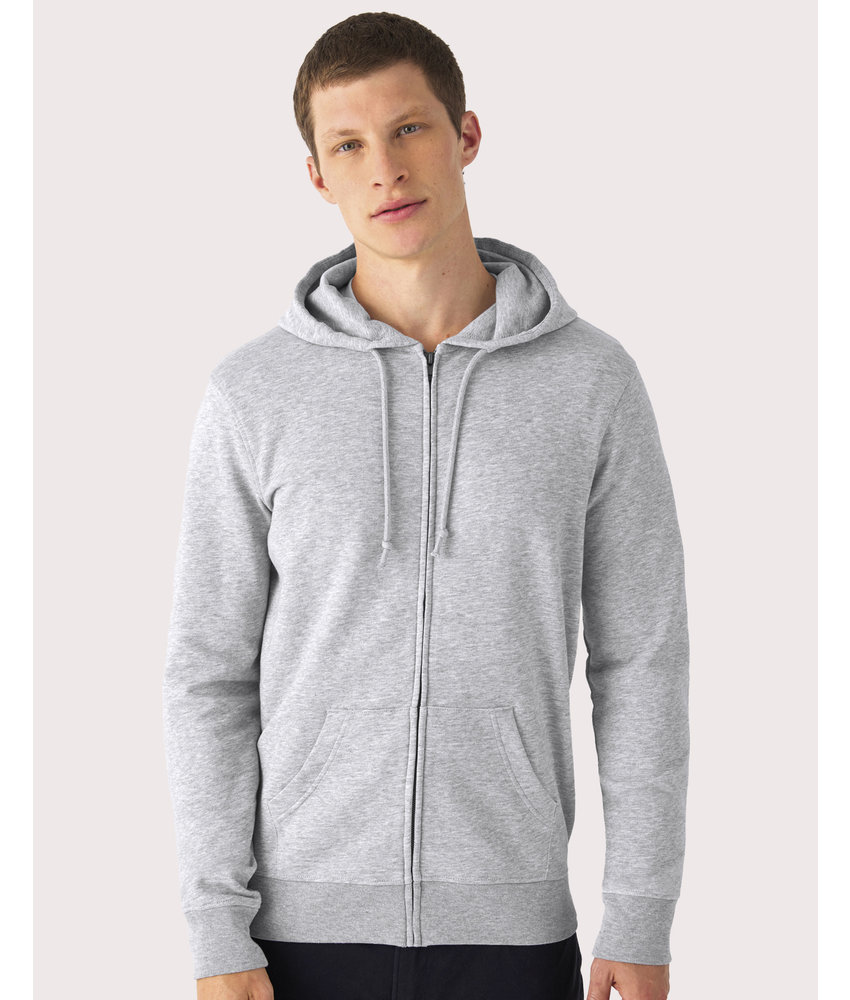B&C | CGWU35B | 232.42 | WU35B | Organic Zipped Hooded