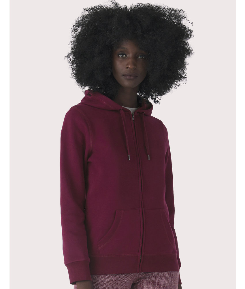 B&C | CGWW03Q | 247.42 | WW03Q | QUEEN Zipped Hooded /women