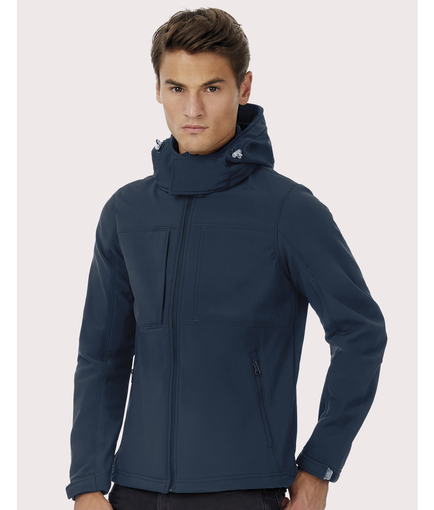 B&C | CGJM950 | 431.42 | JM950 | Hooded Softshell/men