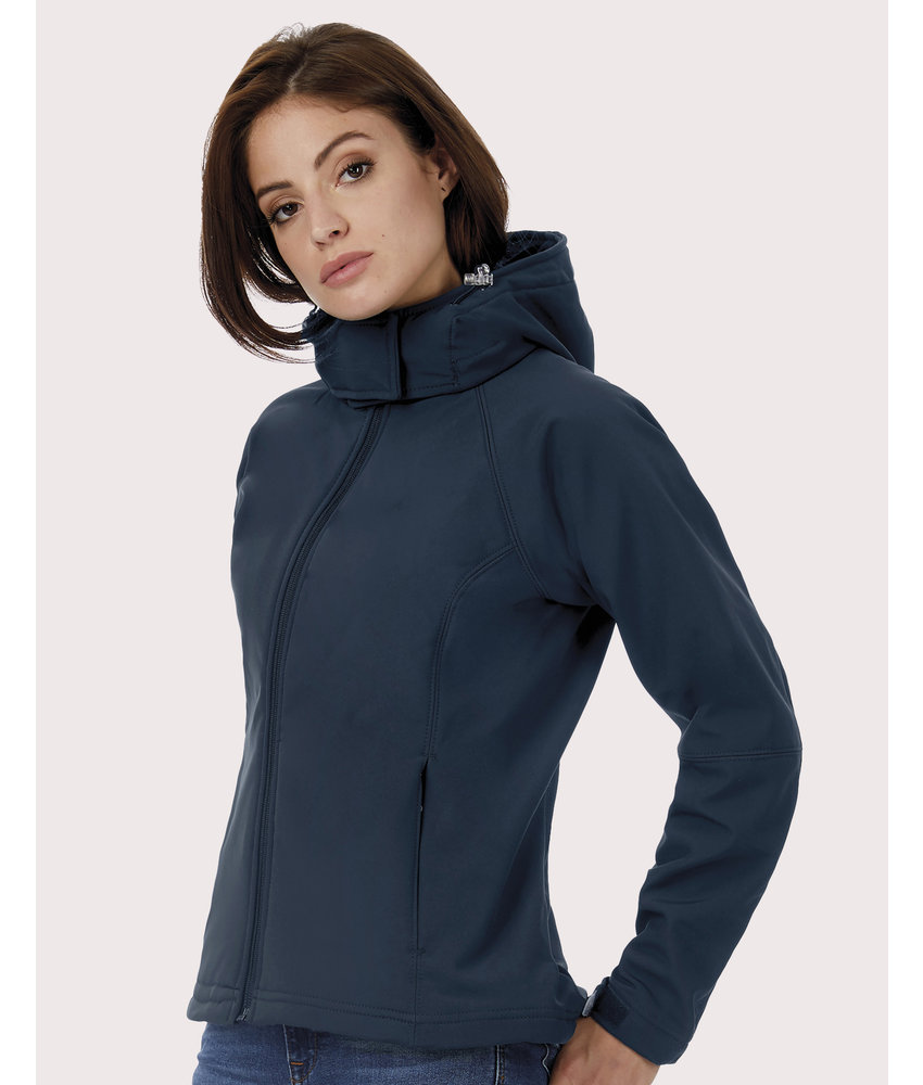 B&C | CGJW937 | 462.42 | JW937 | Hooded Softshell/women
