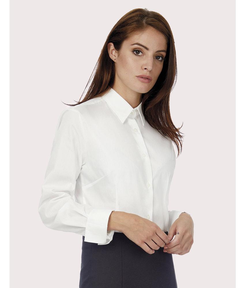 B&C | CGSWP43 | 714.42 | SWP43 | Heritage LSL/women Poplin Shirt