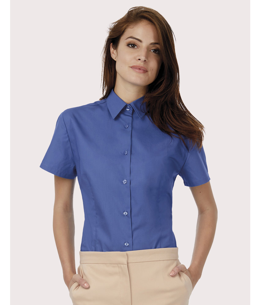 B&C | CGSWP44 | 715.42 | SWP44 | Ladies` Heritage Poplin Shirt - SWP44