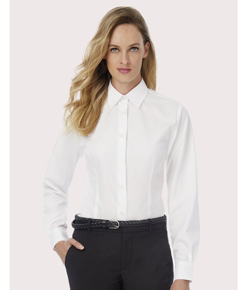 B&C | CGSWP63 | 716.42 | SWP63 | Smart LSL/women Poplin Shirt