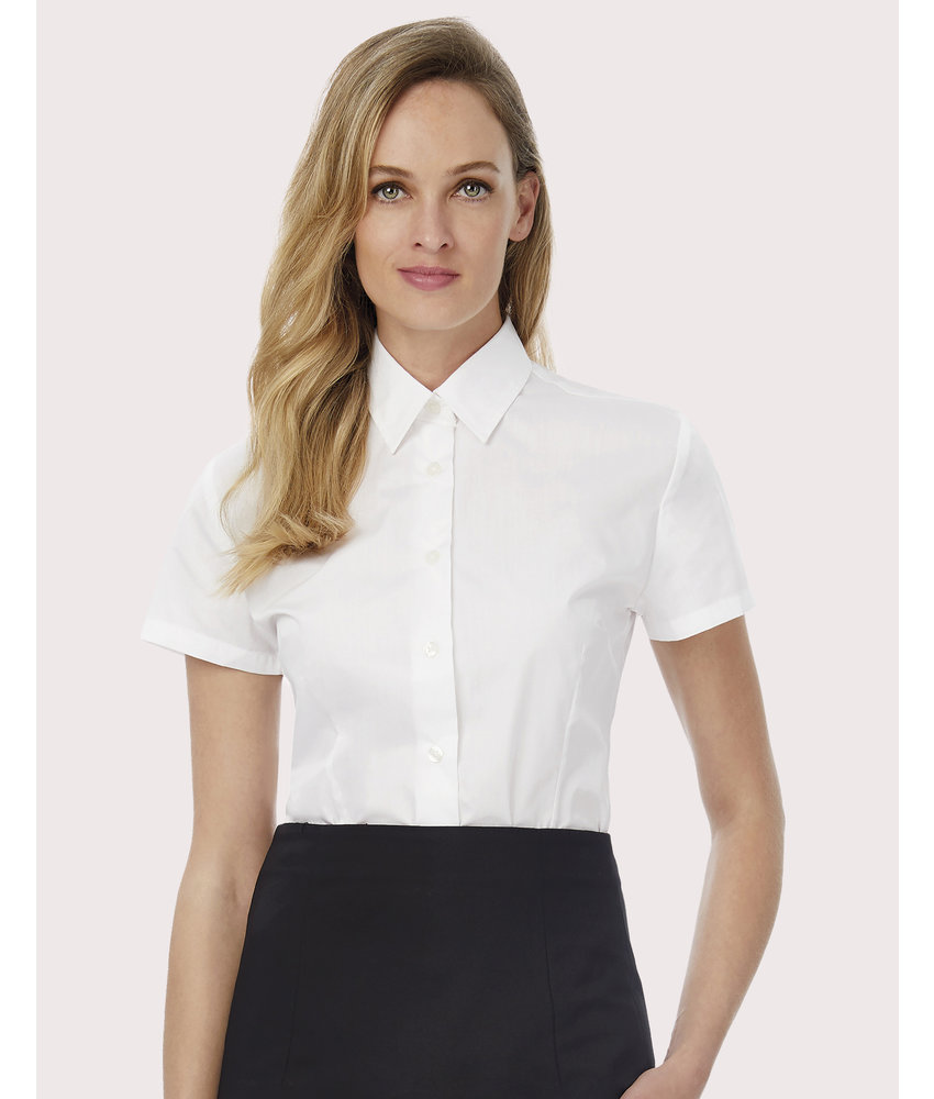 B&C | CGSWP64 | 717.42 | SWP64 | Smart SSL/women Poplin Shirt