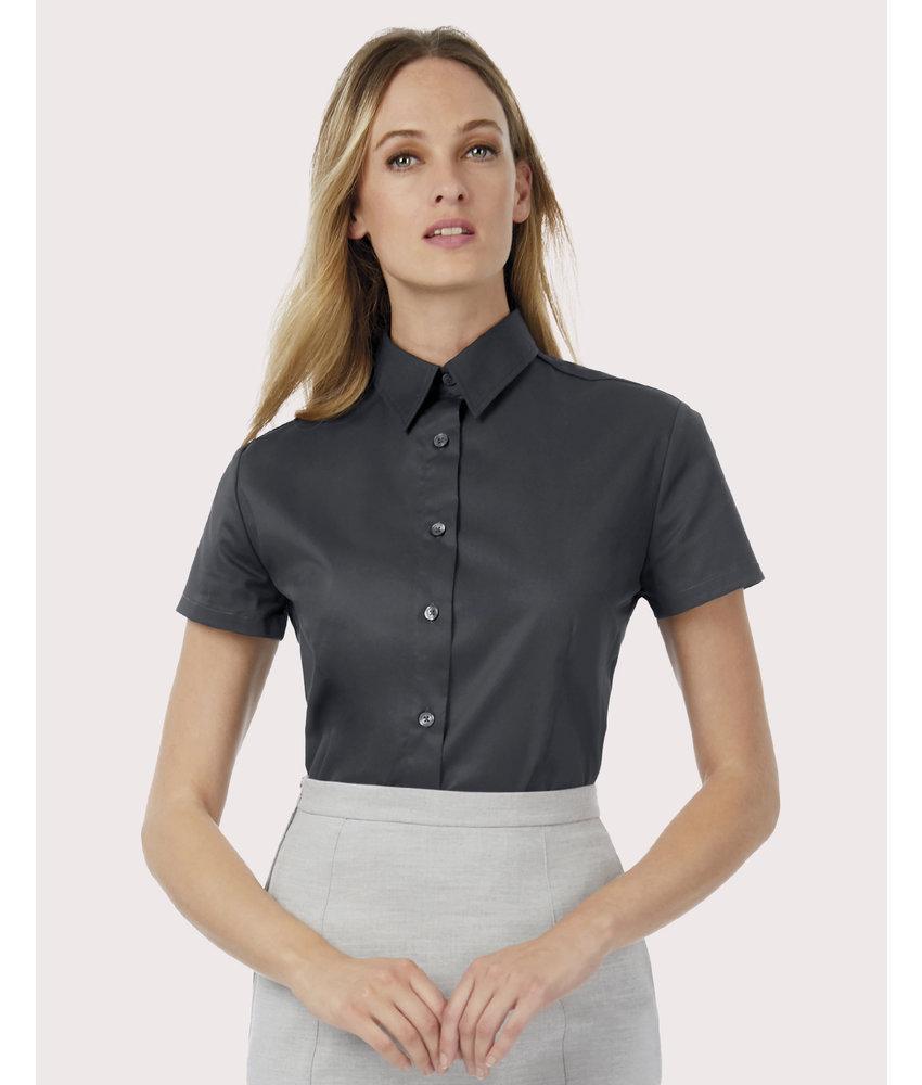 B&C | CGSWT84 | 719.42 | SWT84 | Sharp SSL/women Twill Shirt