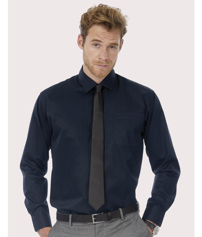 B&C | CGSMT81 | 728.42 | SMT81 | Sharp LSL/men Twill Shirt