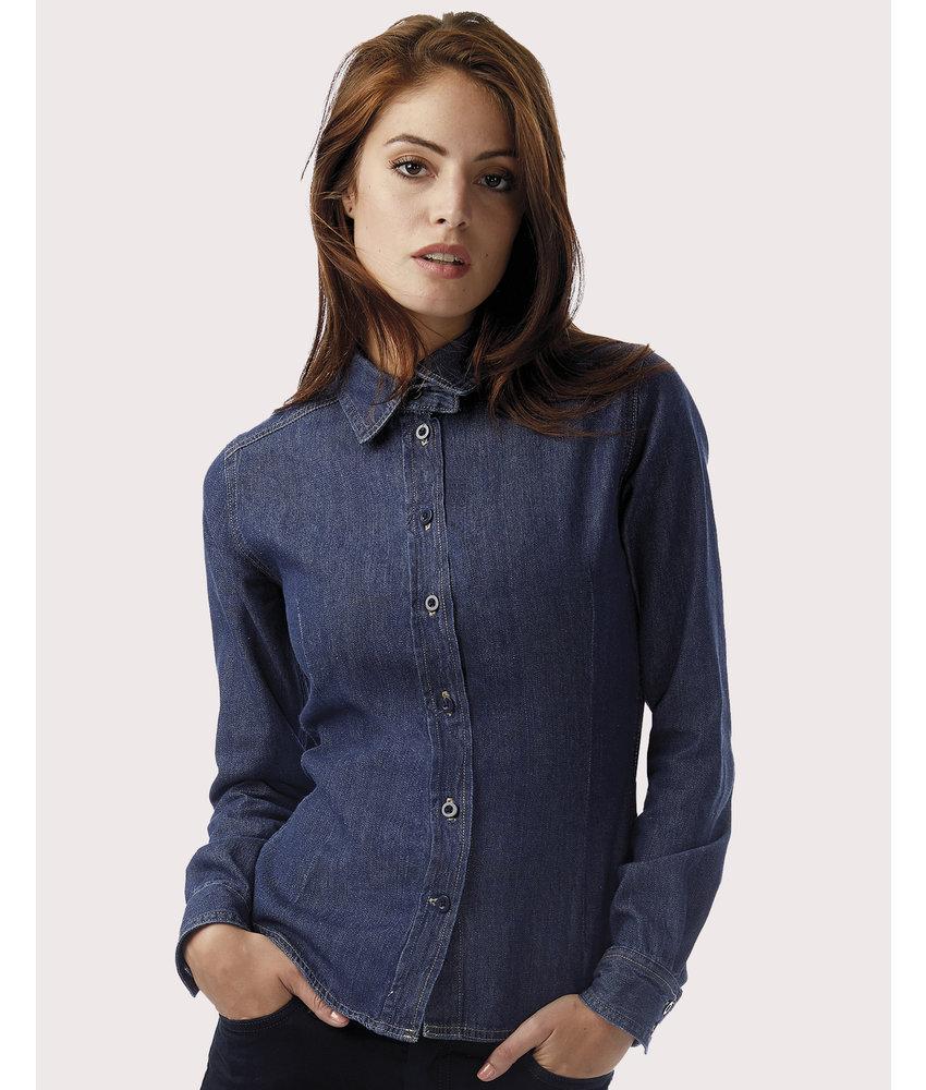 B&C DNM | CGSWD86 | 797.42 | SWD86 | DNM Vision/women Denim Shirt LS