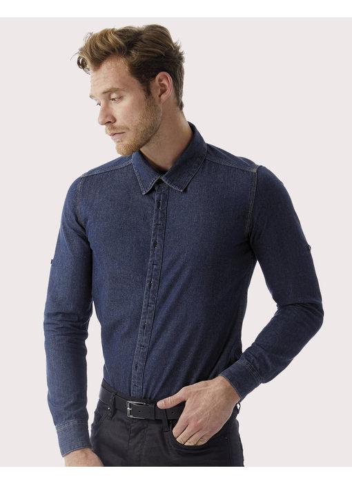 B&C DNM | CGSMD85 | 799.42 | SMD85 | DNM Vision/men Denim Shirt LS