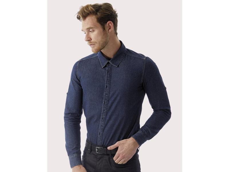 B&C DNM DNM Vision/men Denim Shirt LS