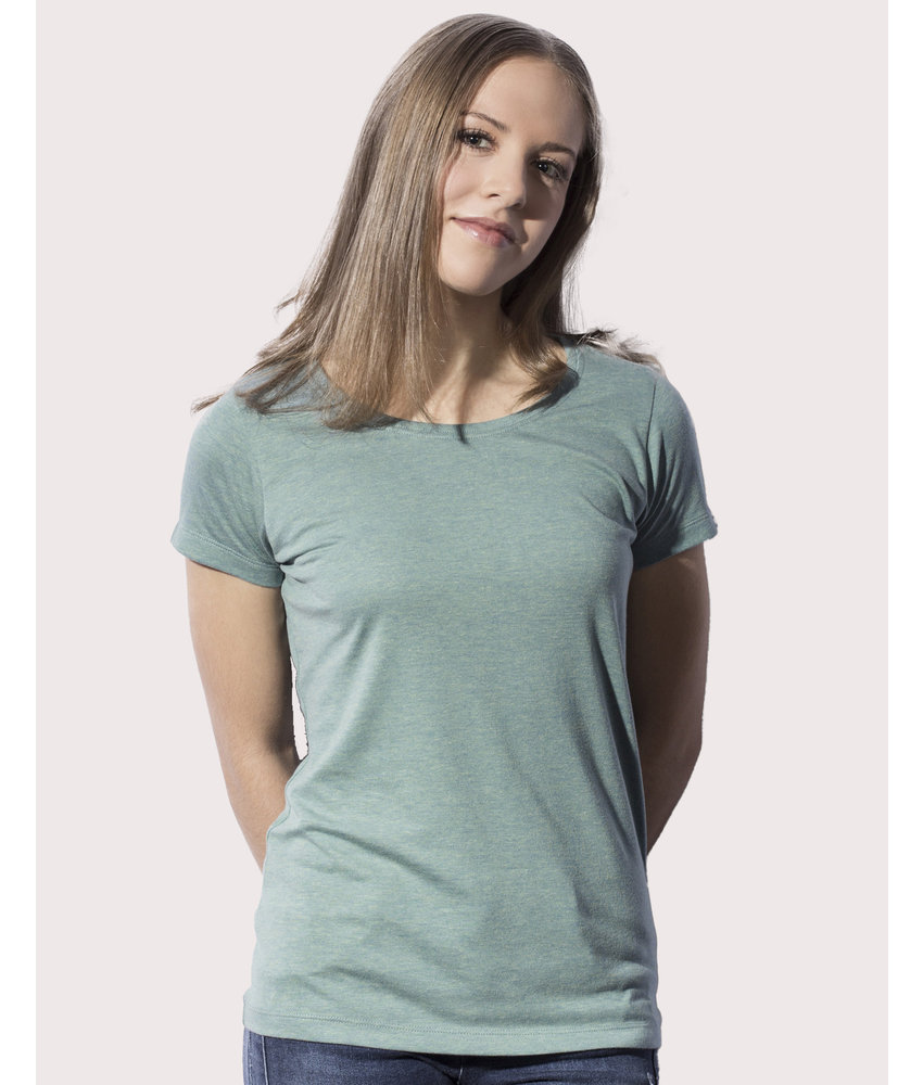 Nakedshirt | 104.85 | TF-SSL-R-TB111 | Nancy Triblend Women's Favourite T-Shirt