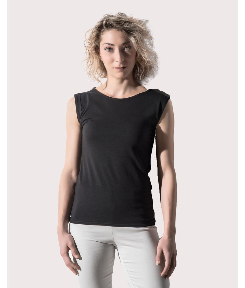 Nakedshirt | 148.85 | TF-RL-O-CO130 | Bessy Rolled Up Sleeve Tank Top