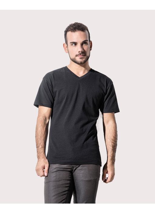 Nakedshirt | 167.85 | TM-SSL-V-OG018 | James Men's Organic V-Neck T-Shirt