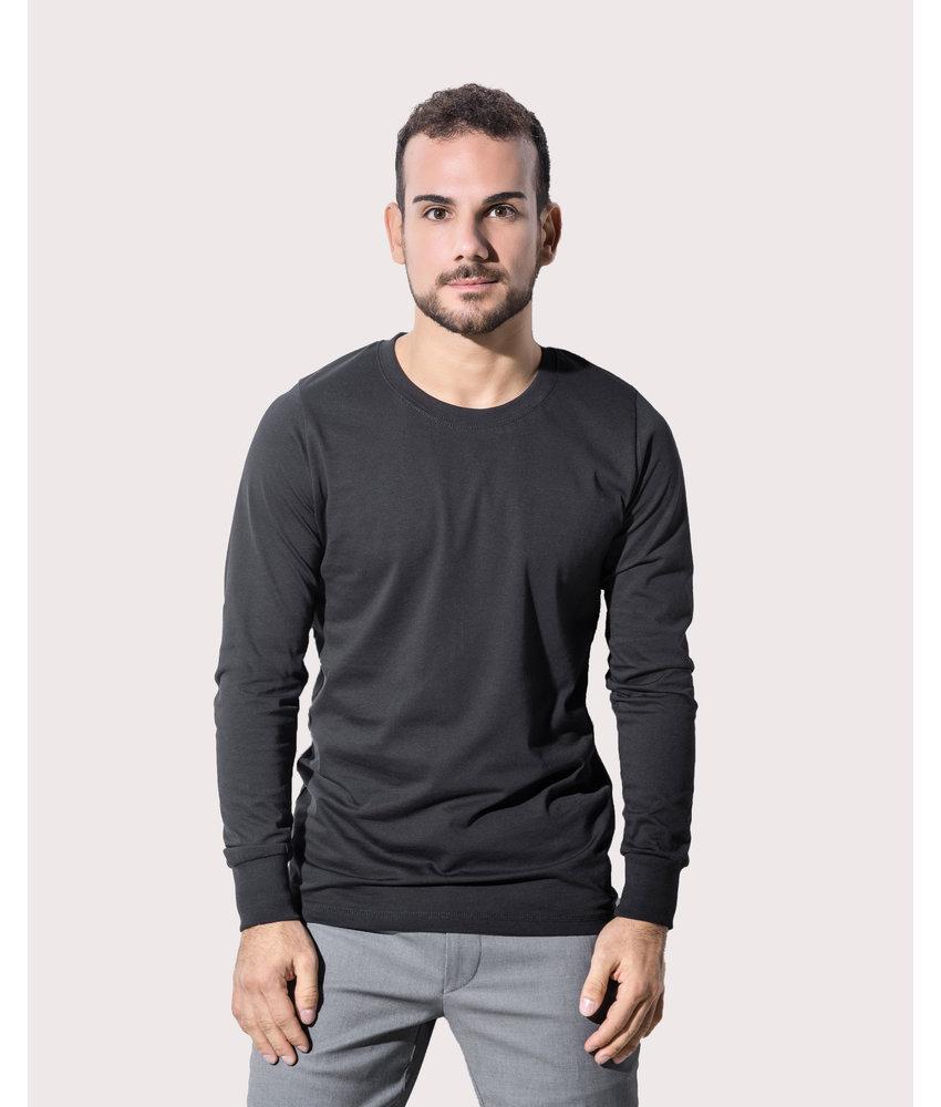 Nakedshirt | 170.85 | TM-LSL-R-OG014 | Jim Men's Organic Longsleeve
