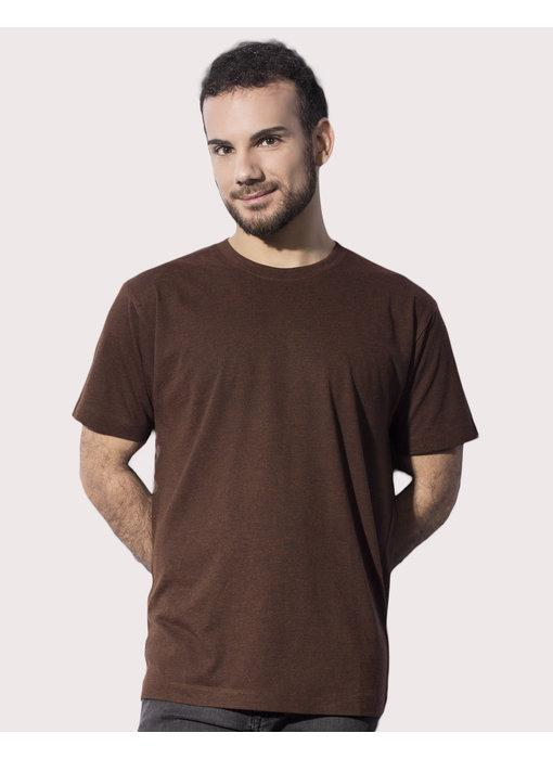 Nakedshirt | 103.85 | TM-SSL-R-TB011 | Larry Triblend Men's Favourite T-Shirt
