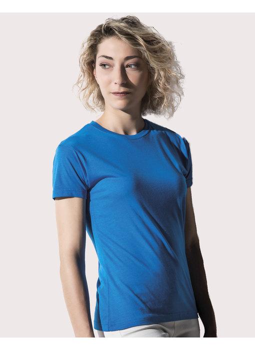 Nakedshirt | 111.85 | TF-SSL-R-BL117 | Lily Viscose-Cotton T-Shirt