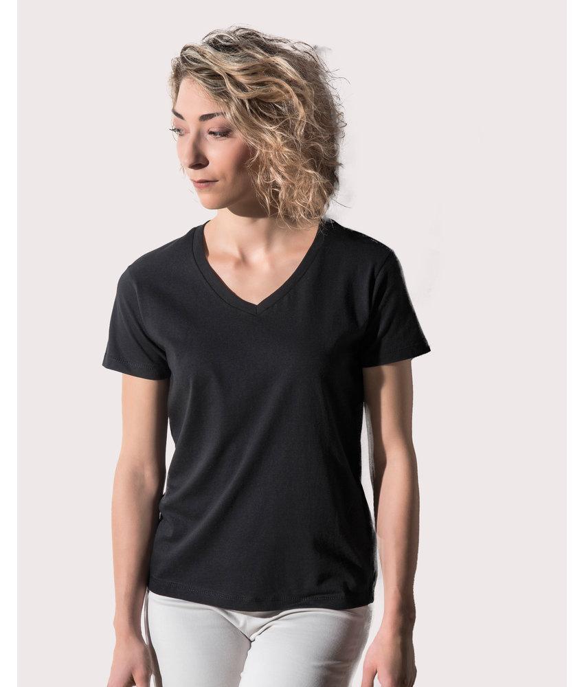 Nakedshirt | 122.85 | TF-SSL-V-CO115 | Veronique Women's V-Neck T-Shirt