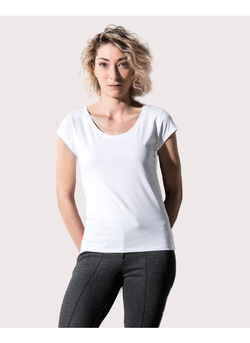 Nakedshirt | 159.85 | TF-SSL-O-CO121 | Helen Women's Cap Sleeve T-Shirt