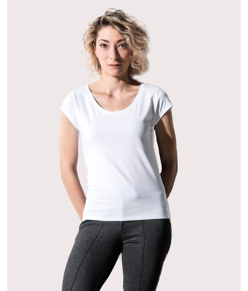 Nakedshirt   159.85   TF-SSL-O-CO121   Helen Women's Cap Sleeve T-Shirt