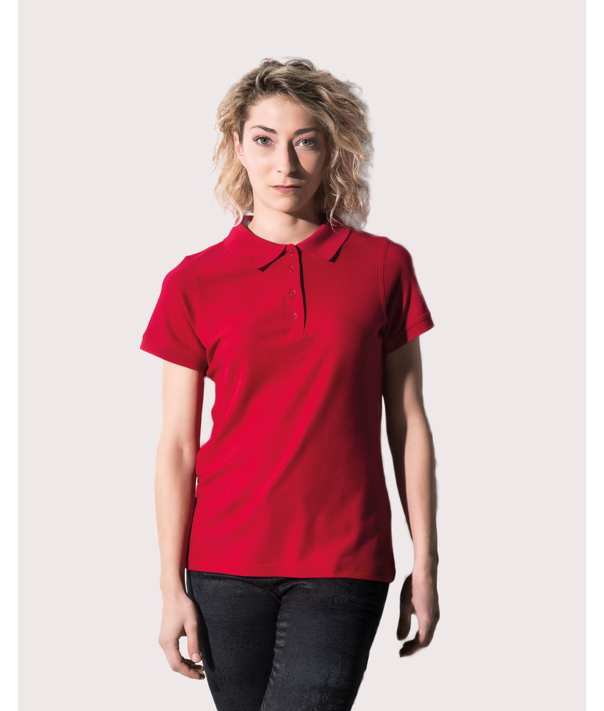 Nakedshirt | 510.85 | PF-SSL-B-BL220 | Grace Women's Viscose-Cotton Pique-Polo