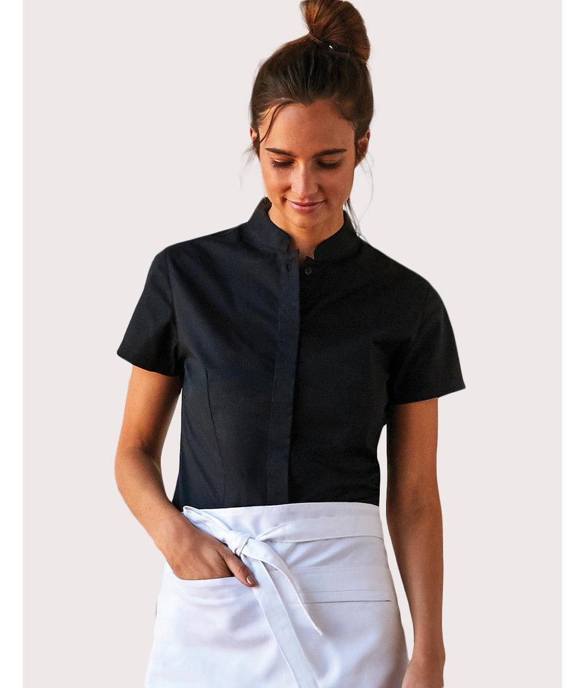 Bargear | 749.11 | KK736 | Women's Tailored Fit Mandarin Collar SSL