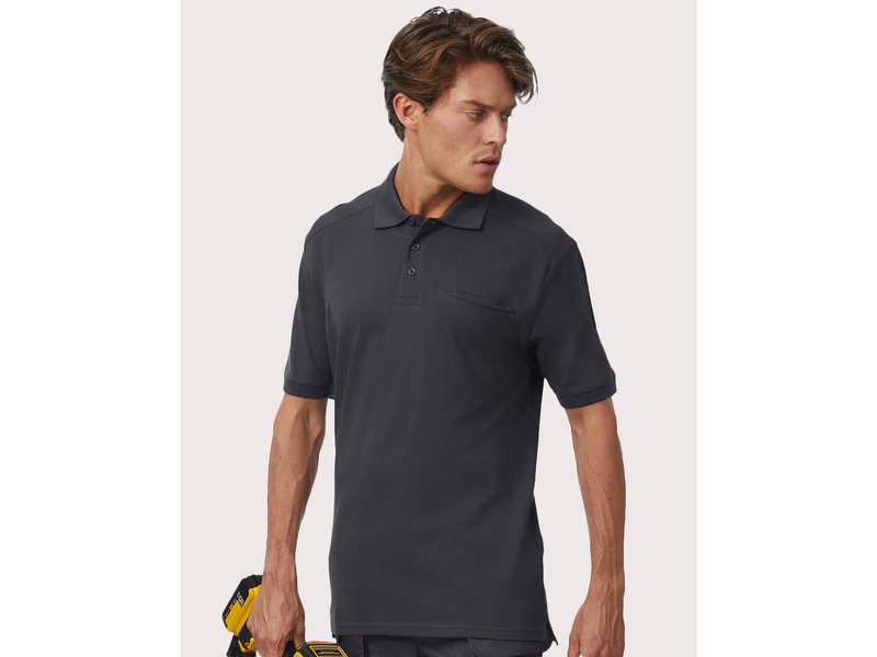 B&C Pro Workwear Pocket Polo