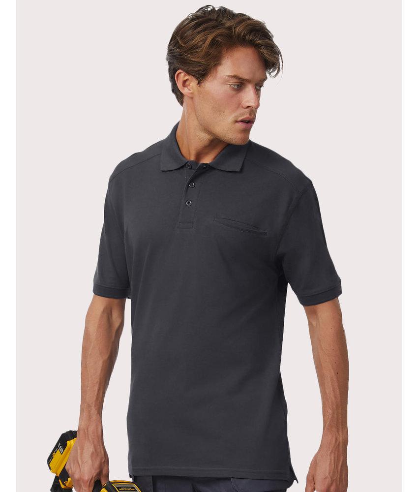 B&C Pro | CGPUC10 | 590.42 | PUC10 | Skill Pro Workwear Pocket Polo