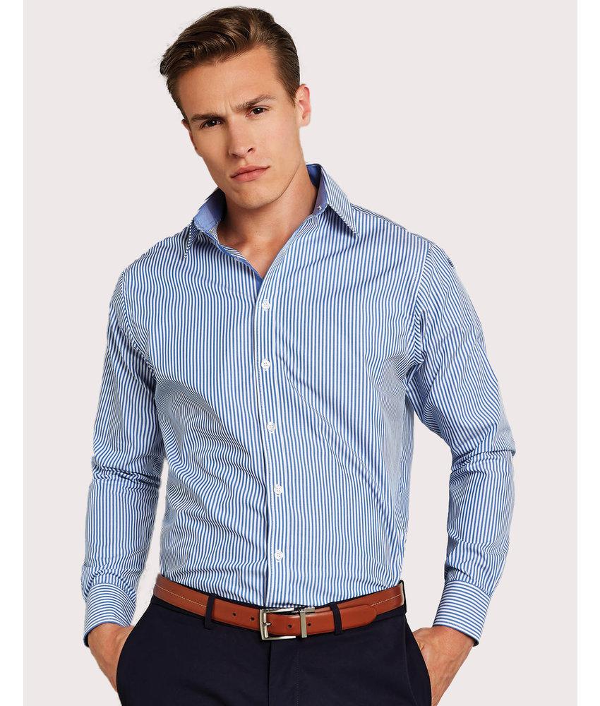 Clayton Ford | 782.11 | KK148 | Tailored Fit Bengal Stripe Shirt LS