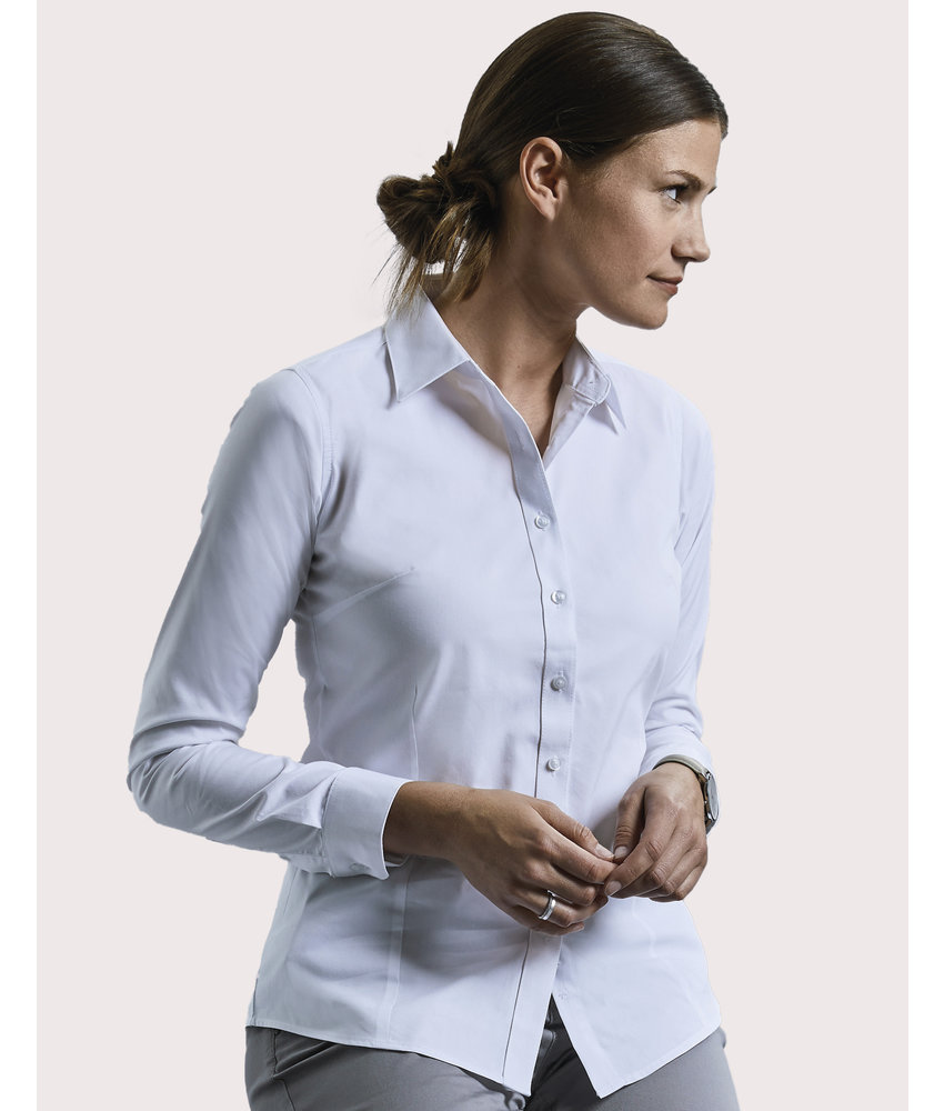 Russell Collection | RU972F | 024.00 | R-972F-0 | Ladies' LS Tailored Coolmax® Shirt