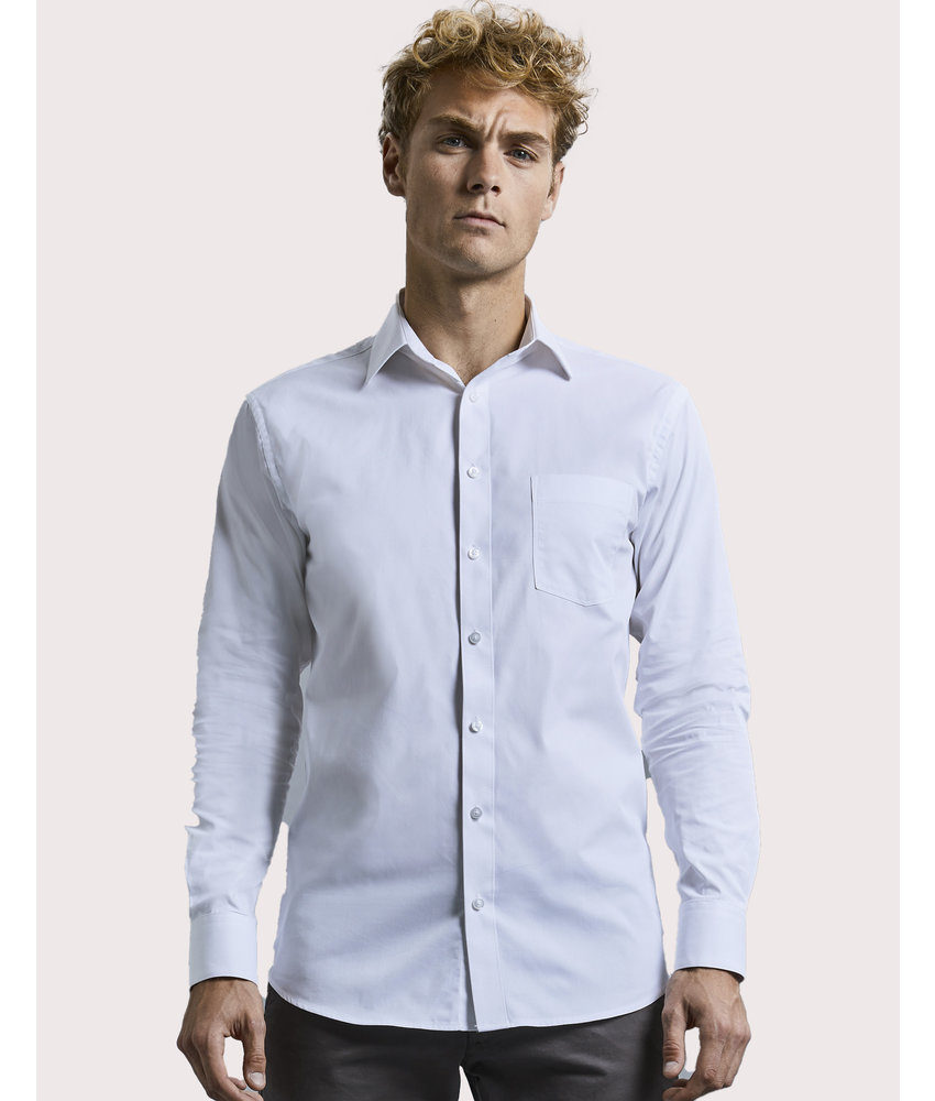 Russell Collection | RU972M | 025.00 | R-972M-0 | Men's LS Tailored Coolmax® Shirt