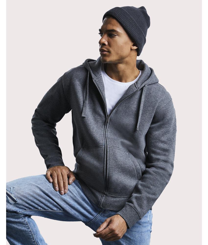 Russell | RU263M | 231.00 | R-263M-0 | Men's Authentic Melange Zipped Hood Sweat