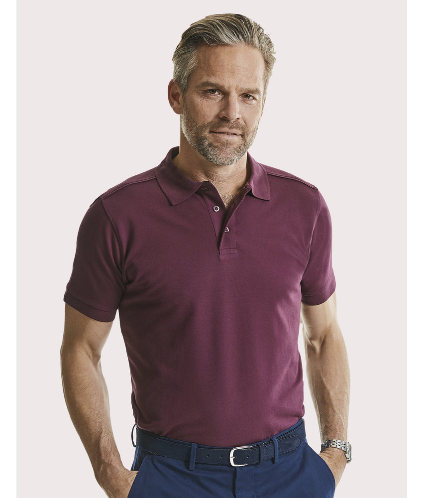 Russell | RU567M | 512.00 | R-567M-0 | Men's Tailored Stretch Polo