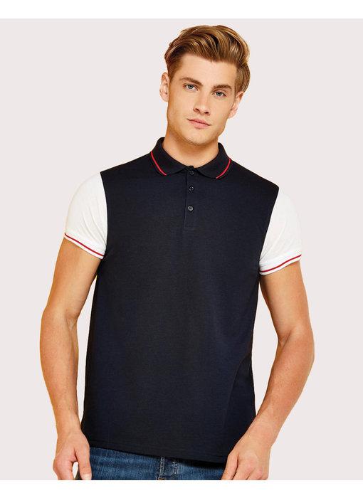 Kustom Kit | 506.11 | KK415 | Fashion Fit Contrast Tipped Polo