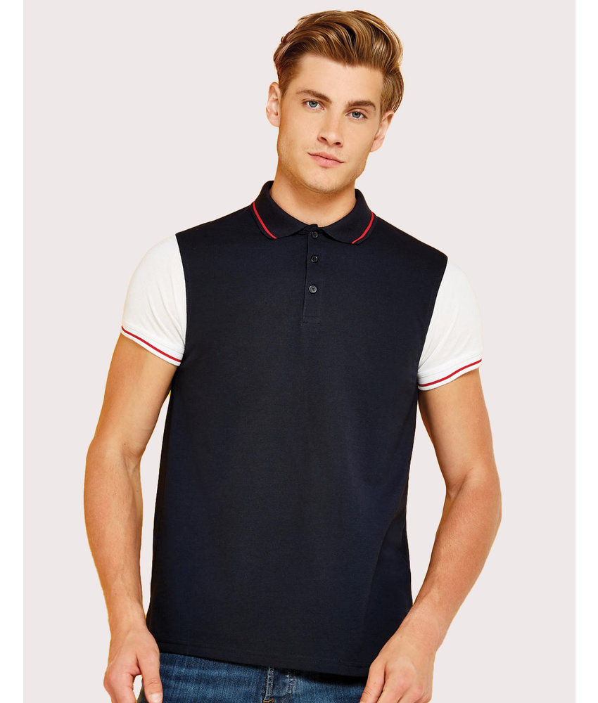 Kustom Kit | 506.11 | KK415 | Fashion Fit Contrast Tipped Polo