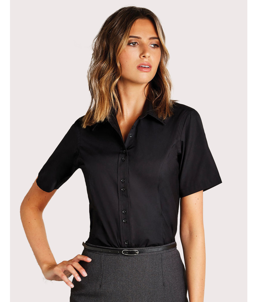 Kustom Kit | 735.11 | KK387 | Women's Tailored Fit City Shirt SSL