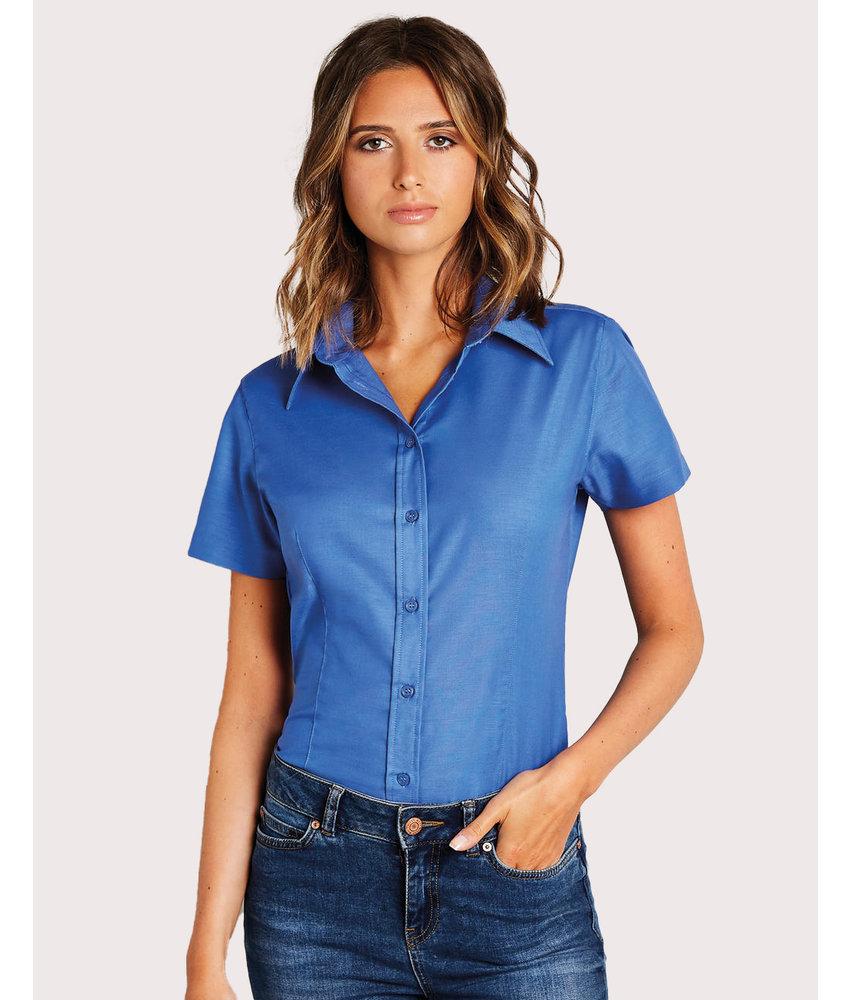 Kustom Kit | 760.11 | KK360 | Women's Tailored Fit Workwear Oxford Shirt SSL