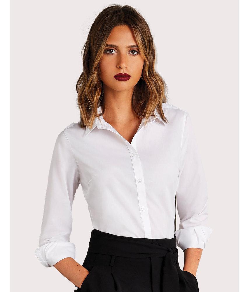 Kustom Kit   773.11   KK242   Women's Tailored Fit Poplin Shirt