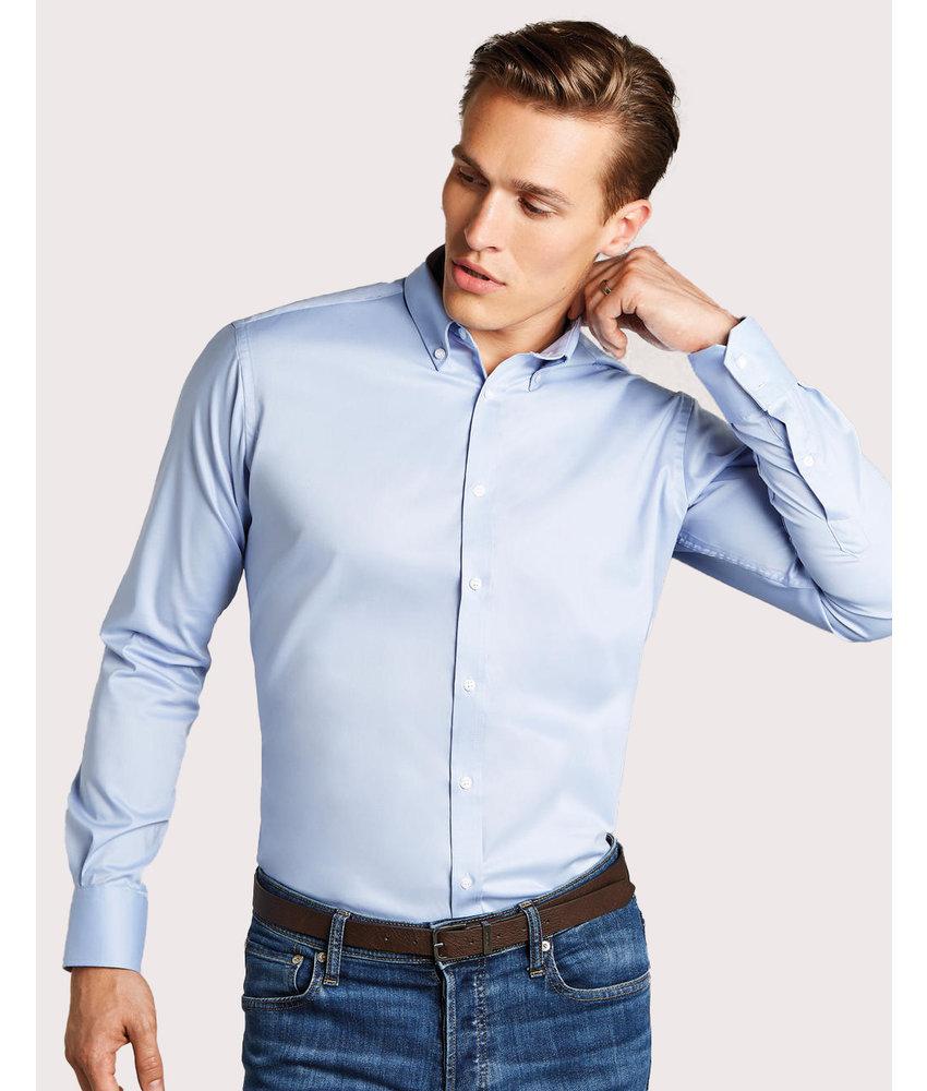 Kustom Kit | 776.11 | KK182 | Slim Fit Stretch Oxford Shirt LS