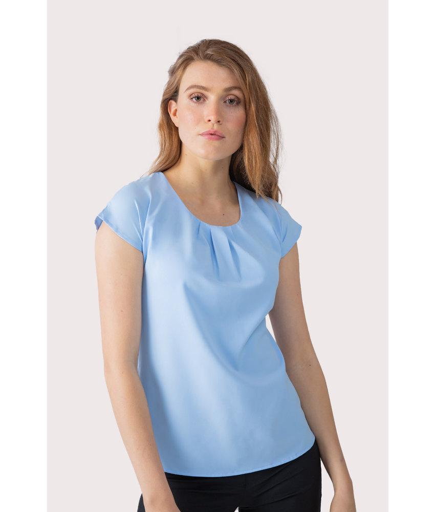 Henbury | H597 | Ladies' pleat front blouse