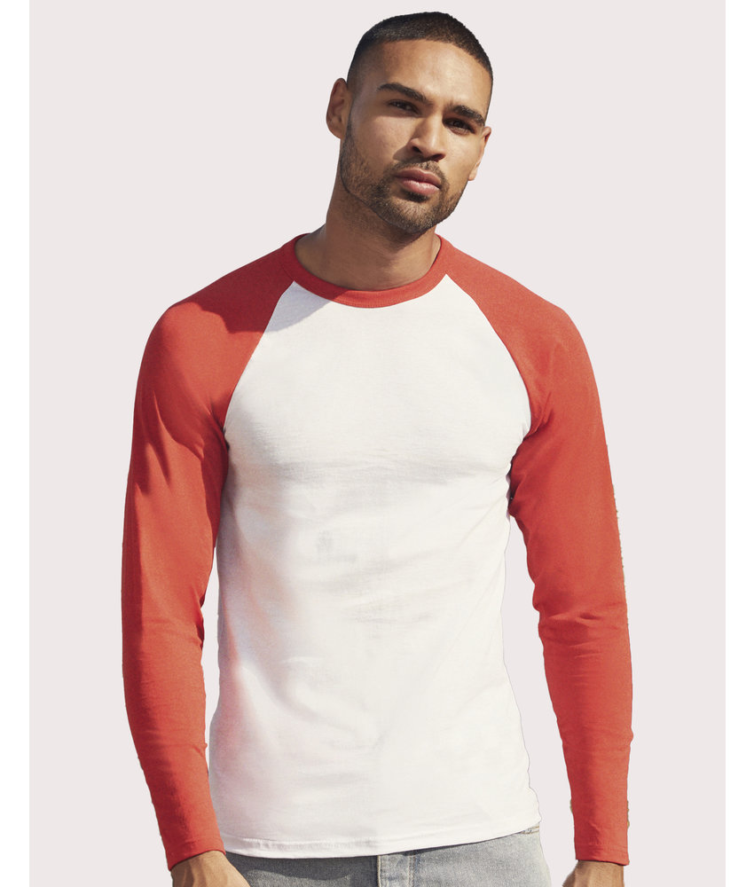 Fruit of the Loom | SC610280 | 116.01 | 61-028-0 | Valueweight Long Sleeve Baseball T