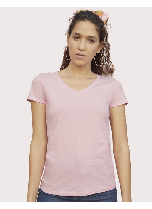 Fruit of the Loom | SC613980 / SC61398 | 129.01 | 61-398-0 | Ladies' Valueweight V-Neck T