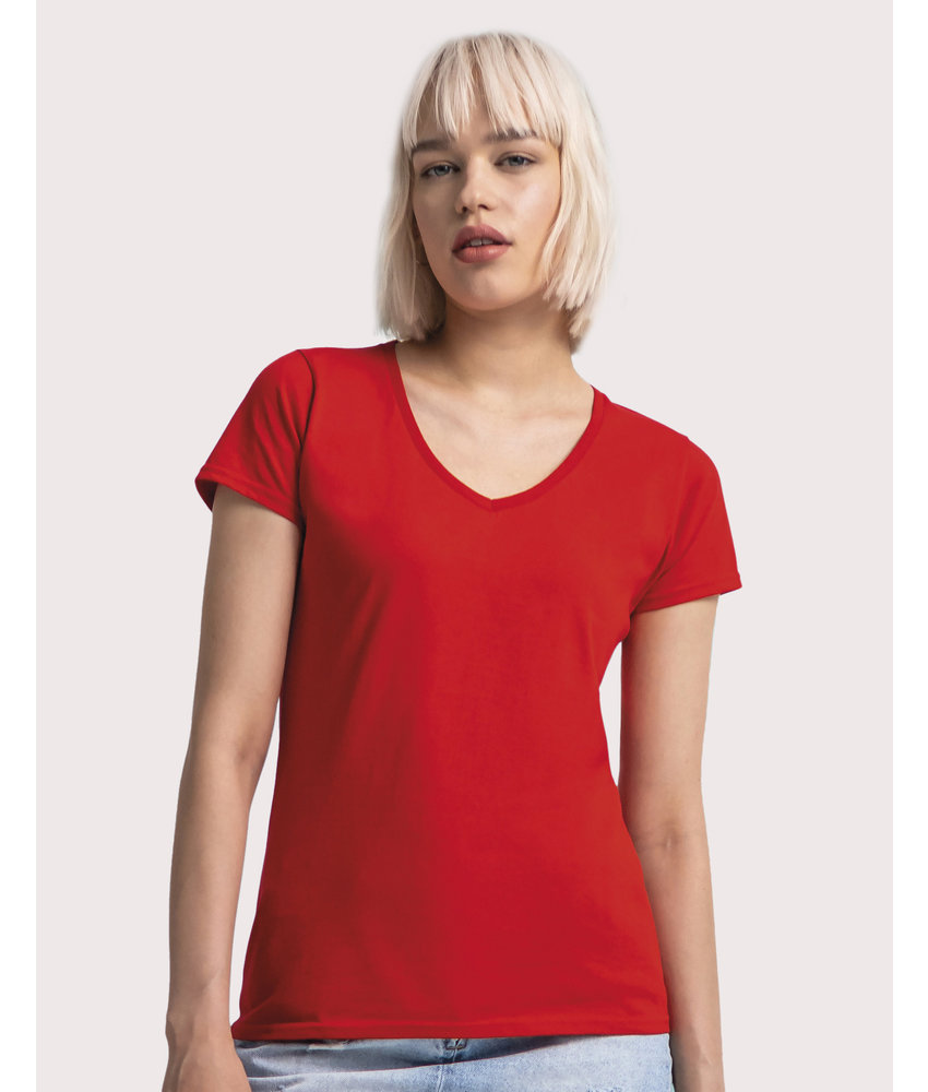 Fruit of the Loom | SC614440 | 146.01 | 61-444-0 | Ladies' Iconic 150 V Neck T