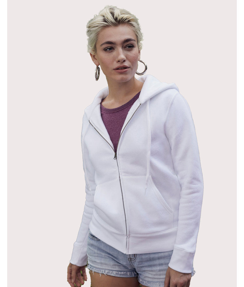 Fruit of the Loom   SC621180 / SC62118   254.01   62-118-0   Premium Hooded Sweat Jacket Lady-Fit