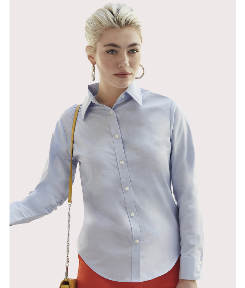 Fruit of the Loom | SC650020 | 702.01 | 65-002-0 | Ladies' Oxford Shirt LS
