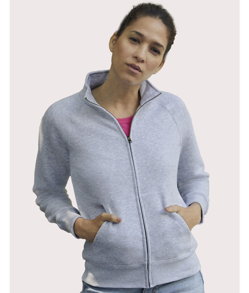Fruit of the Loom | SC621160 / SC62116 | 256.01 | 62-116-0 | Ladies' Premium Sweat Jacket