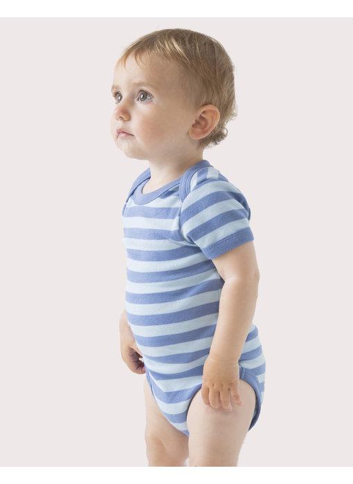 Babybugz | 045.47 | BZ10S | Baby Striped Short Sleeve Bodysuit