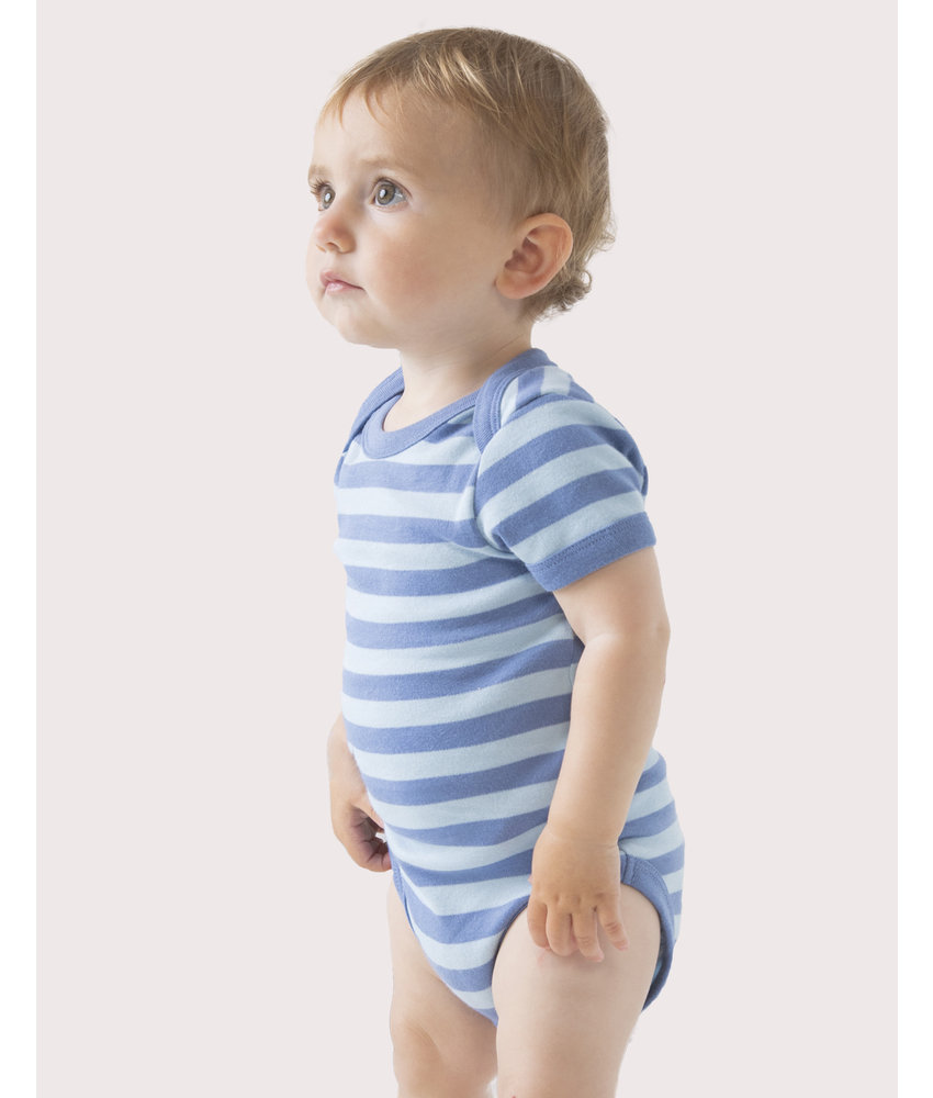 Babybugz | 045.47 | BZ10S | Baby Striped Short Sleeve Bodysuit
