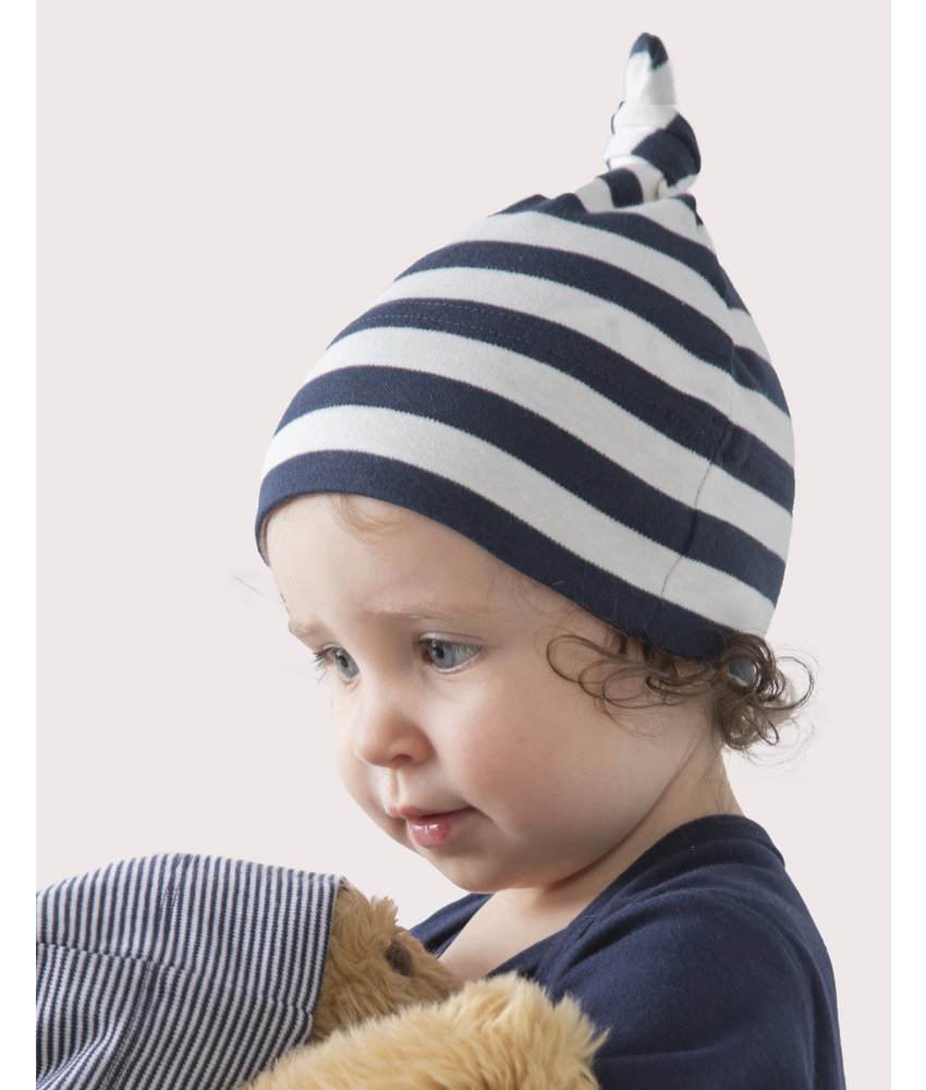 Babybugz | 055.47 | BZ15S | Baby Striped 1 Knot Hat