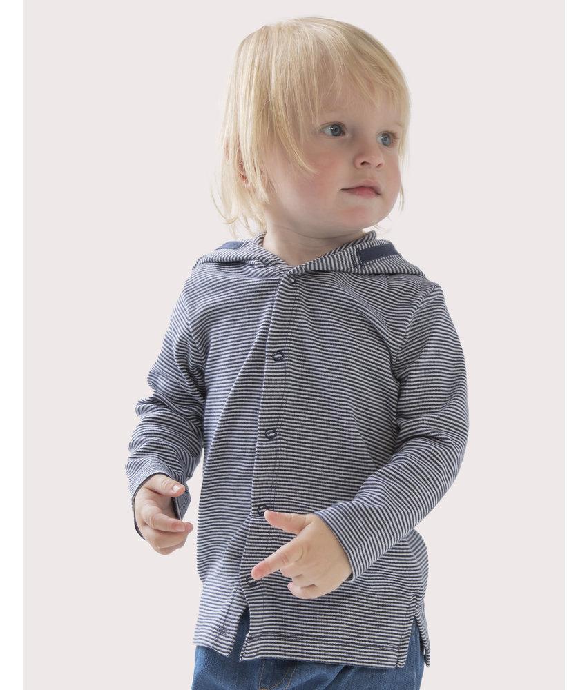 Babybugz | 062.47 | BZ47 | Baby Striped Hooded T