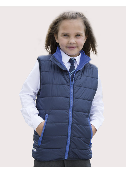 Result Core | R234J/Y | 879.33 | R234J/Y | Junior/Youth Padded Bodywarmer
